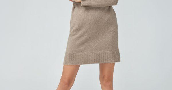 Кашемировое платье - Интернет-магазин шерстяной одежды Cashmere Box
