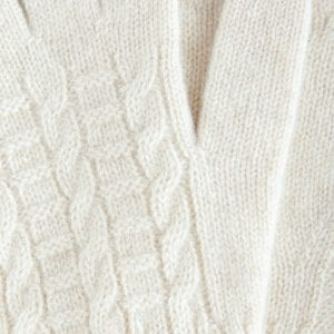 Перчатки из органического кашемира