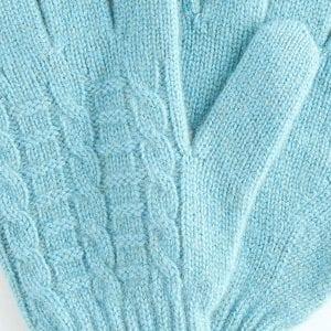Изящные перчатки из кашемира