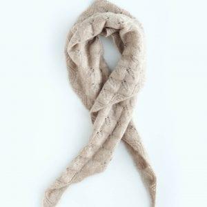 Кашемировый шарф-косынка