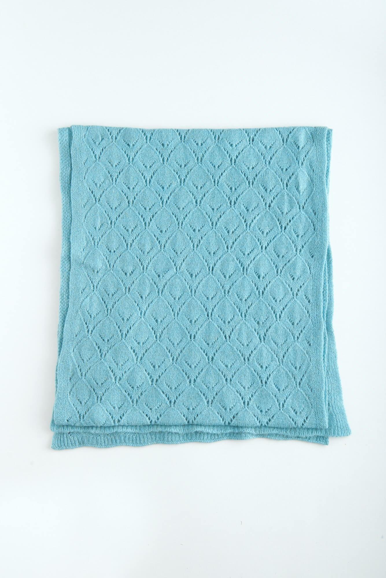 Ажурный кашемировый шарф