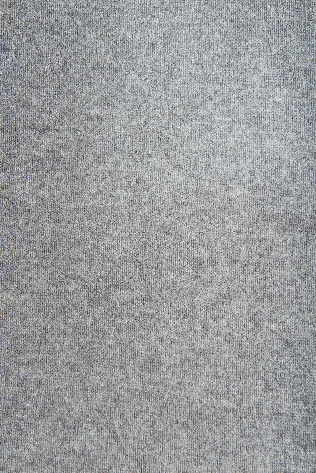 Шарф из темно-серого кашемира